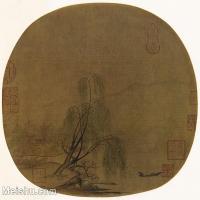 【印刷级】GH6156220古画宋人册页 山水图片-40M-3884X3636
