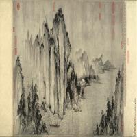 【超顶级】GH7280173古画山水风景赤壁图好镜片图片-346M-19756X6132