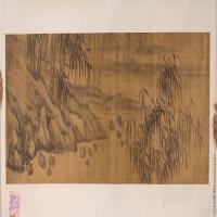 【打印级】GH7280013古画山水风景镜片图片-38M-6674X2000