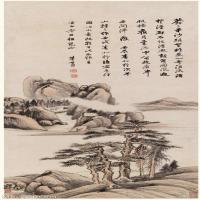 【欣赏级】GH6087007古画山水风景立轴图片-24M-1613X3933_15383320
