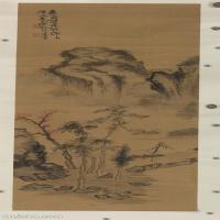 【欣赏级】GH6087000古画山水风景立轴图片-33M-2176X5315_15318814