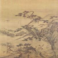 【欣賞級】GH6088571古畫山水風景宋-佚名-山樓來鳳圖立軸圖片-19M-1917X3618_1981384