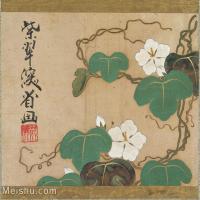 【印刷级】GH6080218古画花卉鲜花鸟小品图片-91M-5942X5363