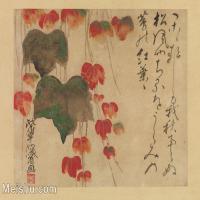 【印刷级】GH6080236古画花卉鲜花鸟小品图片-34M-4000X3001