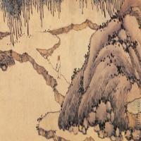 【印刷级】GH7280060古画山水风景镜片图片-72M-7239X3178