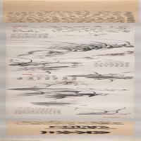 【打印级】GH7271117古画清-郑燮 兰竹图卷长卷图片-211M-32868X2254_54535047