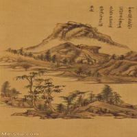 【打印级】GH6088769古画山水风景纪游画册-西湖立轴图片-83M-2656X4842_15374803