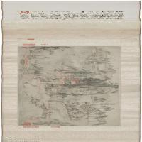 【印刷级】GH7271049古画清-弘仁-芝昜东湖图卷  24X173cm长卷图片-332M-26405X4400