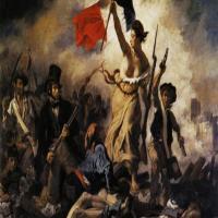 法国浪漫主义画家欧仁·德拉克罗瓦-自由引导人民艺术作品欣赏