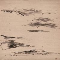 【欣赏级】GH6088677古画山水风景朱耷4开-纸本立轴图片-13M-1260X4748_56820524