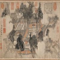 【印刷级】GH7280187古画山水风景马嗜烟雨图镜片图片-58M-6999X3484