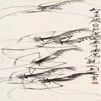 齐白石-虾画作赏析