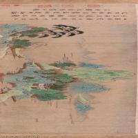 【超顶级】GH7280097古画山水风景宋钱选山居图纸本山水镜片图片-283M-20929X4727