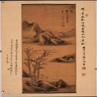 【欣赏级】GH6088780古画山水风景董其昌立轴图片-28M-2336X3219