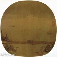 【印刷级】GH6156226古画宋人册页 山水图片-39M-3888X3529