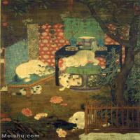 【印刷级】GH6155052古画立轴动物宋戏猫图图片-112M-5361X7358_2118618