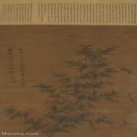 【超顶级】GH6085355古画树木植物-新篁图-元-李衎-纸本-30x50.5-110x184.5-墨竹子立轴图片-1048M-14773X24797_7696964