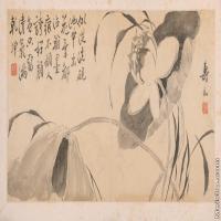 【印刷级】GH6040389古画镜片清 边寿民 杂画图片花草植物-29M-7040X3328_56913189