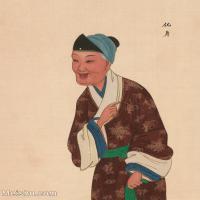 【印刷级】GH6061430古画脸谱(13)-人物-化身册页图片-39M-3318X4145