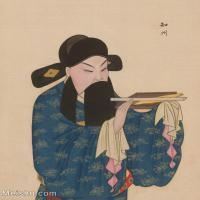 【印刷级】GH6061426古画脸谱(1)-人物-知州册页图片-38M-3264X4127