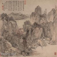 【欣赏级】GH6081010古画山水风景江山秋色图小品图片-12M-2067X1552