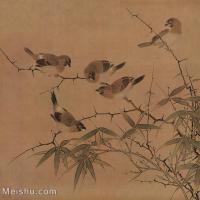 【印刷级】GH6080216古画花卉鲜花鸟小品图片-34M-3095X3028