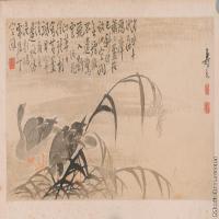 【印刷级】GH6040388古画镜片清 边寿民 杂画图片花草植物-29M-6960X3472_56912752