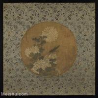 【印刷级】GH6080452古画花卉鲜花鸟古代植物菊花卉小品图片-78M-5300X5183_18532840