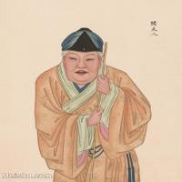 【印刷级】GH6061457古画脸谱(38)-人物-阎夫人册页图片-38M-3294X4133