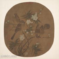 【印刷级】GH6080472古画花卉鲜花鸟古代-植物花卉小品图片-38M-3857X3480