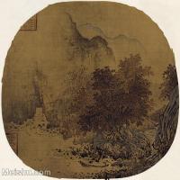 【印刷级】GH6156228古画宋人册页 山水图片-40M-3780X3706
