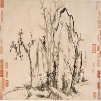 【印刷级】GH7280529古画植物赵孟頫赵子昂秀石疏林图镜片图片-52M-6219X2752_6682022