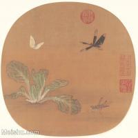 【印刷级】GH6080428古画花卉鲜花鸟-宋代-全册-小品图片-26M-3763X3596_2044783
