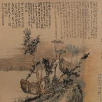 【印刷级】GH7280058古画山水风景镜片图片-79M-5513X3534