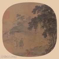 【印刷级】GH6080613古画人物孔子见荣启期图-国画水墨-30.5x30-51x50-小品图片-312M-6449X6331_18705611