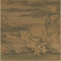 【超顶级】GH6088643古画山水风景明-祝允明-天台白松图轴立轴图片-146M-4128X12427_28582175