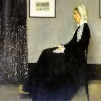 惠斯勒-「惠斯勒的母亲」画作赏析