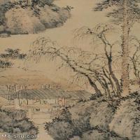 【打印级】GH6087034古画山水风景立轴图片-39M-2717X3973_15510711