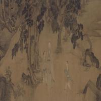 鲍嘉李畹斯像卷-清朝-人物