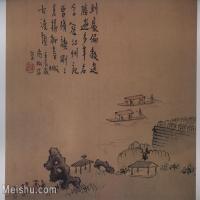 【印刷级】GH6152942古画册页山水清高翔扬州即景图册(质量差图书扫描)2图片-123M-7296X5920