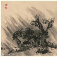 【印刷级】GH6060124古画石涛设色山水风景册页图片-54M-3993X3500_56938336