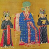 【印刷级】GH6080538古画人物北宋-宋仁宗皇后像小品图片-47M-3985X4188_2046655