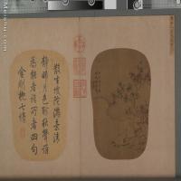 【印刷级】GH6080835古画树木植物小品图片-638M-8858X12591