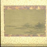 【欣賞級】GH6088574古畫山水風景宋-佚名-牧犢圖-絹本-水墨-22.4×23立軸圖片-17M-1996X2980_1984504