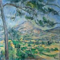 保罗·塞尚-圣维克多山画作赏析
