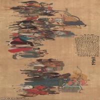 【超顶级】GH7270843古画文姬归汉图长卷图片-963M-26654X9473