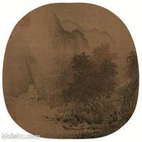 【印刷级】GH6081020古画山水风景萧照-秋山红树图-小品图片-49M-3937X3865_2054595