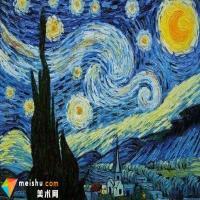 梵高的作品《星夜》赏析