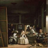 巴洛克时期西班牙画家委拉斯凯兹-宫娥艺术作品赏析