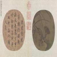 【印刷级】GH6080883古画树木植物晚荷郭索图页-宋-佚名国画水墨-56x30-149.5x80-花卉-莲藕-书法-小品图片-131M-9268X4958